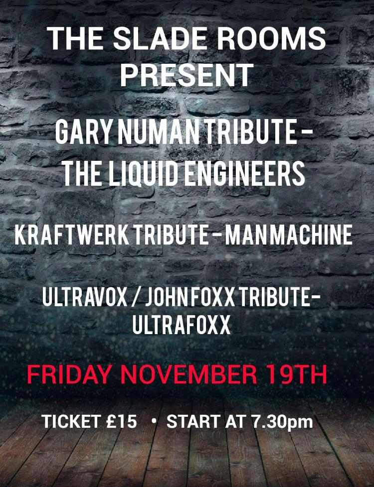 Image for - Gary Numan Tribute - The LIquid Engineers at The Slade Rooms