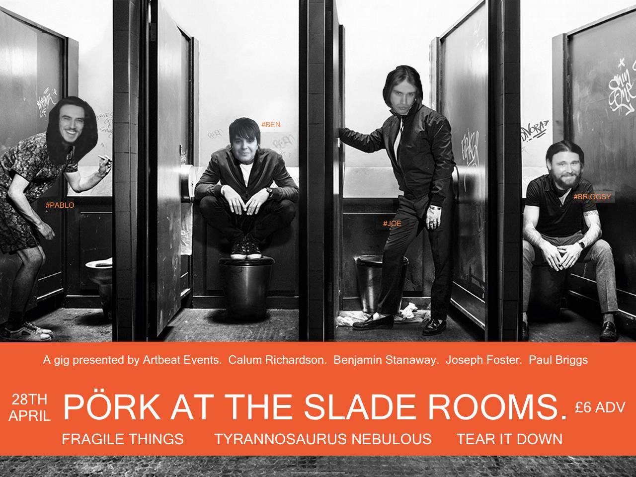 Image for - PORK at The Slade Rooms