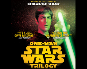 Image for - Charles Ross 'One Man Star Wars Trilogy' at The Slade Rooms