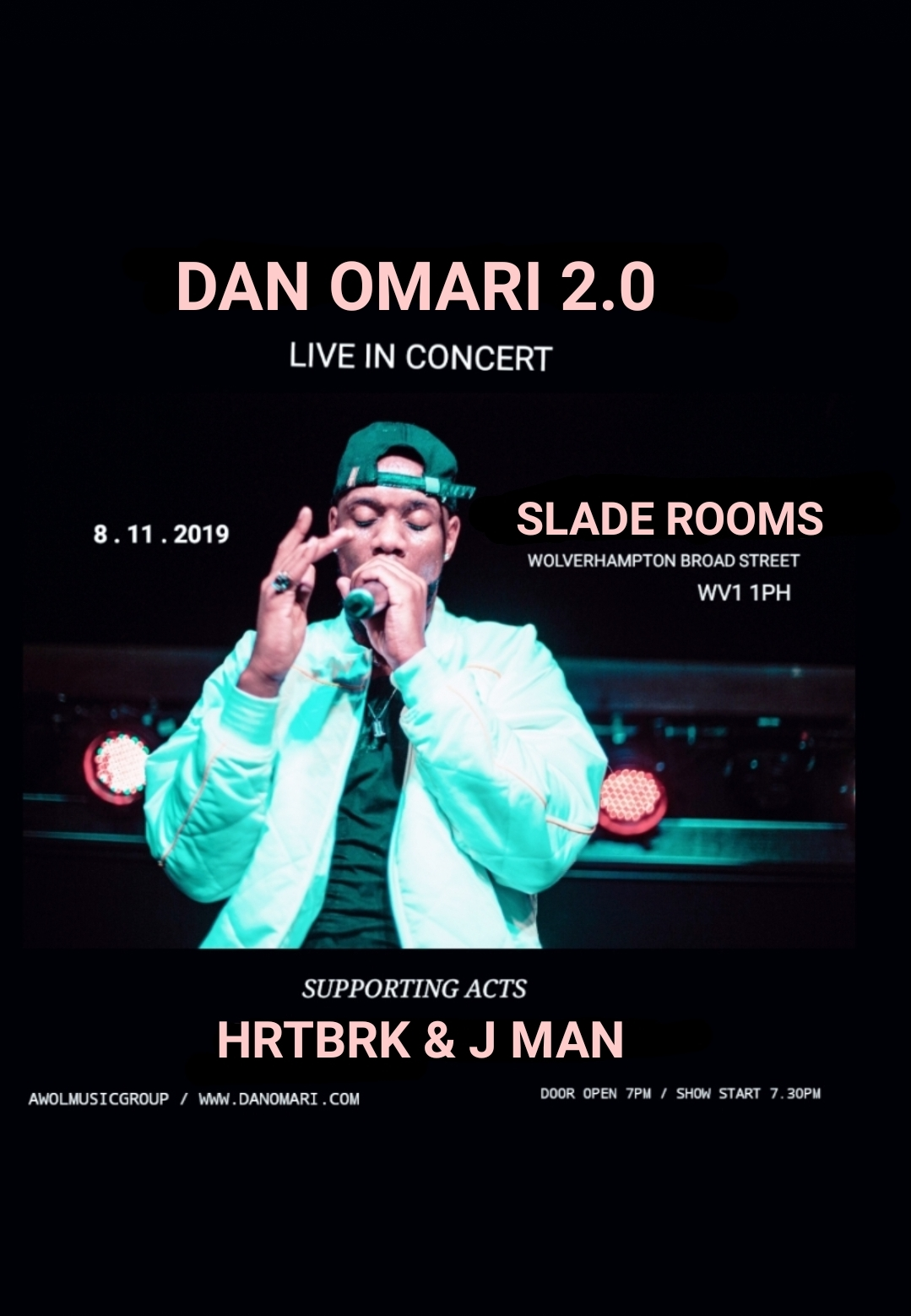 Image for - Dan Omari 2.0 at The Slade Rooms