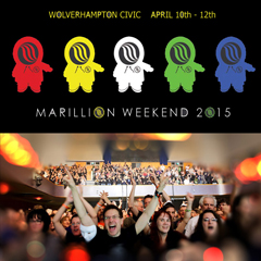 Image for - The Marillion Weekend - SUNDAY TICKET at Wolverhampton Civic Hall