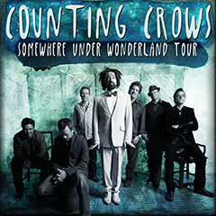 Image for - Counting Crows - Somewhere Under Wonderland Tour 2015 - ONLY UK SHOW at Wolverhampton Civic Hall