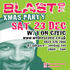 Image for - Blast Off - Xmas Party at Civic Hall