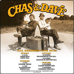 Image for - Chas & Dave - All Seasons Live 2018 at The Diamond Banqueting Suite