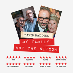 Image for -  David Baddiel - My Family: Not The... at Wulfrun Hall