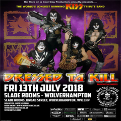Image for - Dressed To Kill (KISS Tribute) at The Slade Rooms