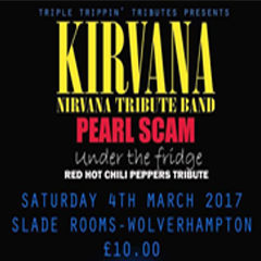 Image for - Kirvana - A Tribute To Nirvana at The Slade Rooms