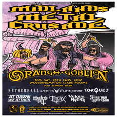 Image for - Midlands Metal Crusade 2017 at The Slade Rooms