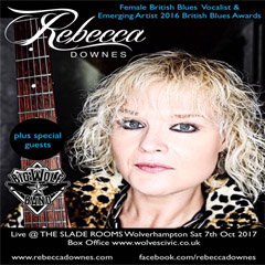Image for - Rebecca Downes at The Slade Rooms