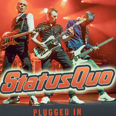 Image for - Status Quo - Plugged In - Live And Rockin! at Civic Hall