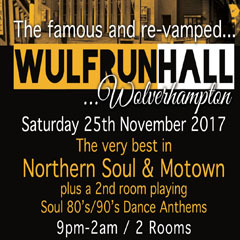 Image for - Wolverhampton Soul Night Out at Wulfrun Hall