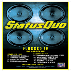 Image for -  Status Quo - Plugged In - Live And... at Civic Hall