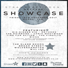 Image for - Strawberry Moon Showcase at The Slade Rooms