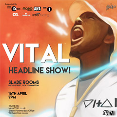 Image for - VITAL's at The Slade Rooms