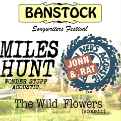 Image for -  Banstock 2018 - Miles Hunt & Ned's... at Bantock Park