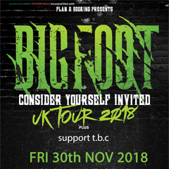 Image for - Bigfoot at The Slade Rooms