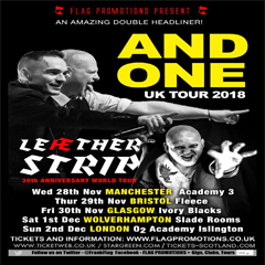 Image for -  AND ONE and LEAETHER STRIP (Double... at The Slade Rooms