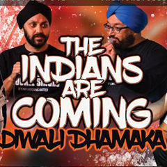 Image for - The Indians Are Coming - Diwali Dhamaka at The Slade Rooms