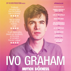 Image for - Ivo Graham - Motion Sickness at The Slade Rooms