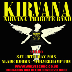 Image for - Kirvana (A Tribute To Nirvana) at The Slade Rooms