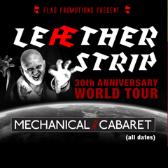 Image for - LEAETHER STRIP 30th Anniversary UK Tour at The Slade Rooms