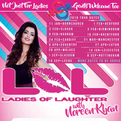Image for - LOL (Ladies Of Laughter) With Noreen Khan at The Slade Rooms