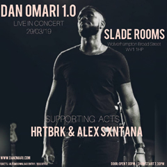 Image for - Dan Omari at The Slade Rooms