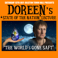 Image for - Doreen's 'State of the Nation' Lecture - POSTPONED at Bilston Town Hall