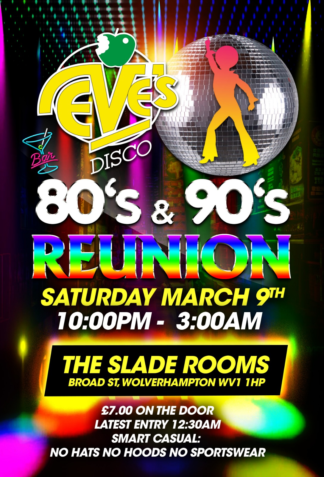 Image for - Eve's 80's & 90's Reunion at The Slade Rooms