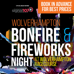 Image for -  Wolverhampton Bonfire & Fireworks... at Wolverhampton Racecourse