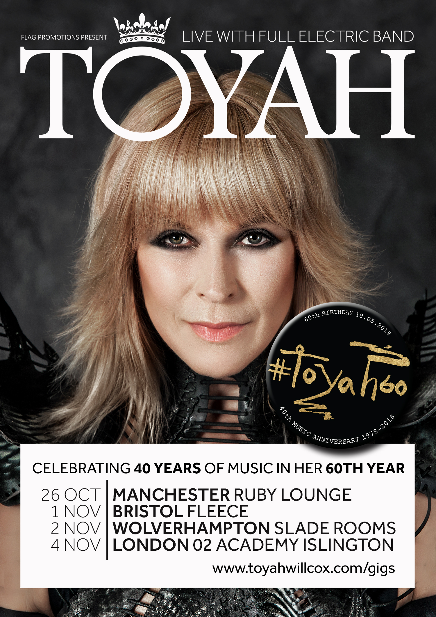 Image for - TOYAH at The Slade Rooms