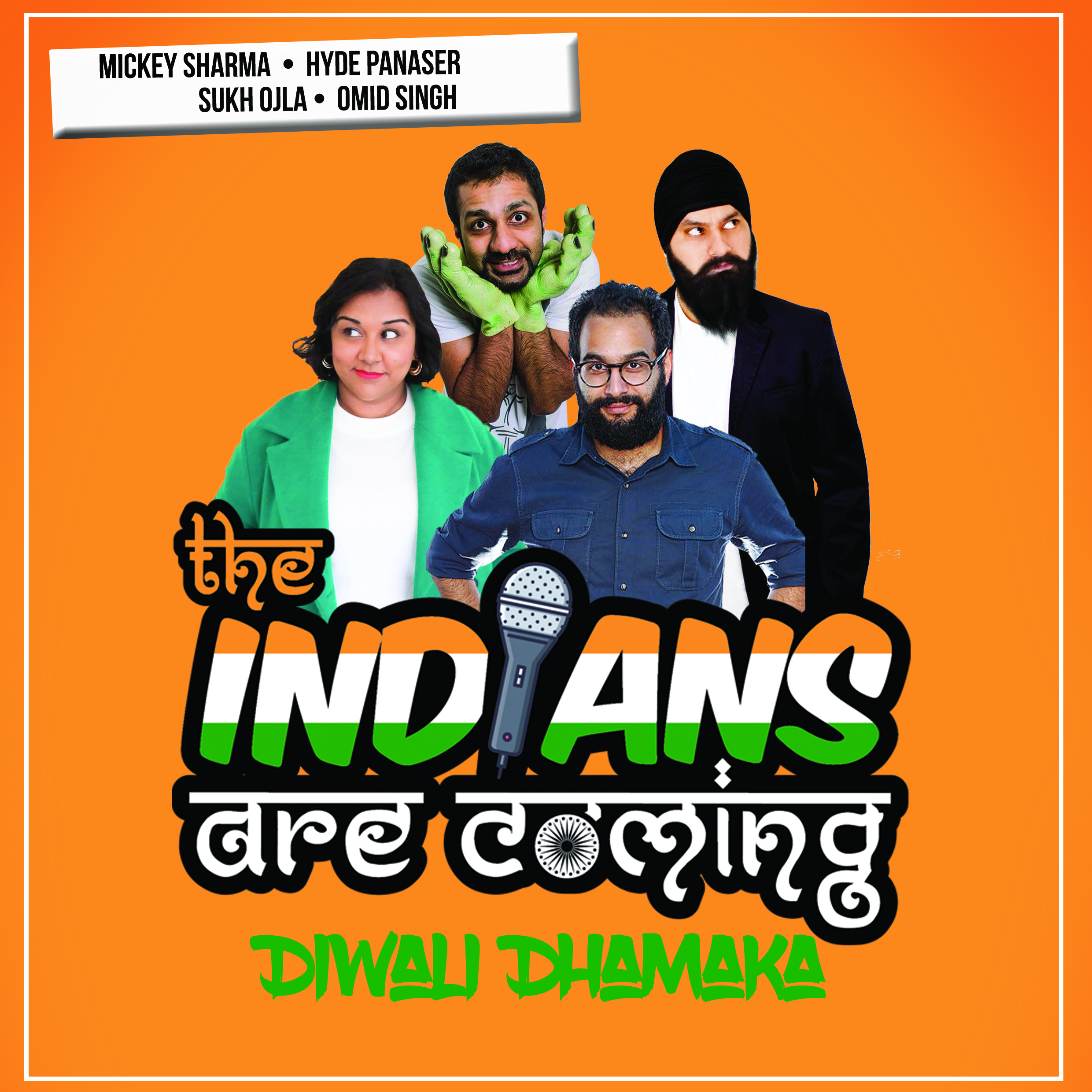Image for - The Indians Are Coming : Diwali Dhamaka at The Slade Rooms