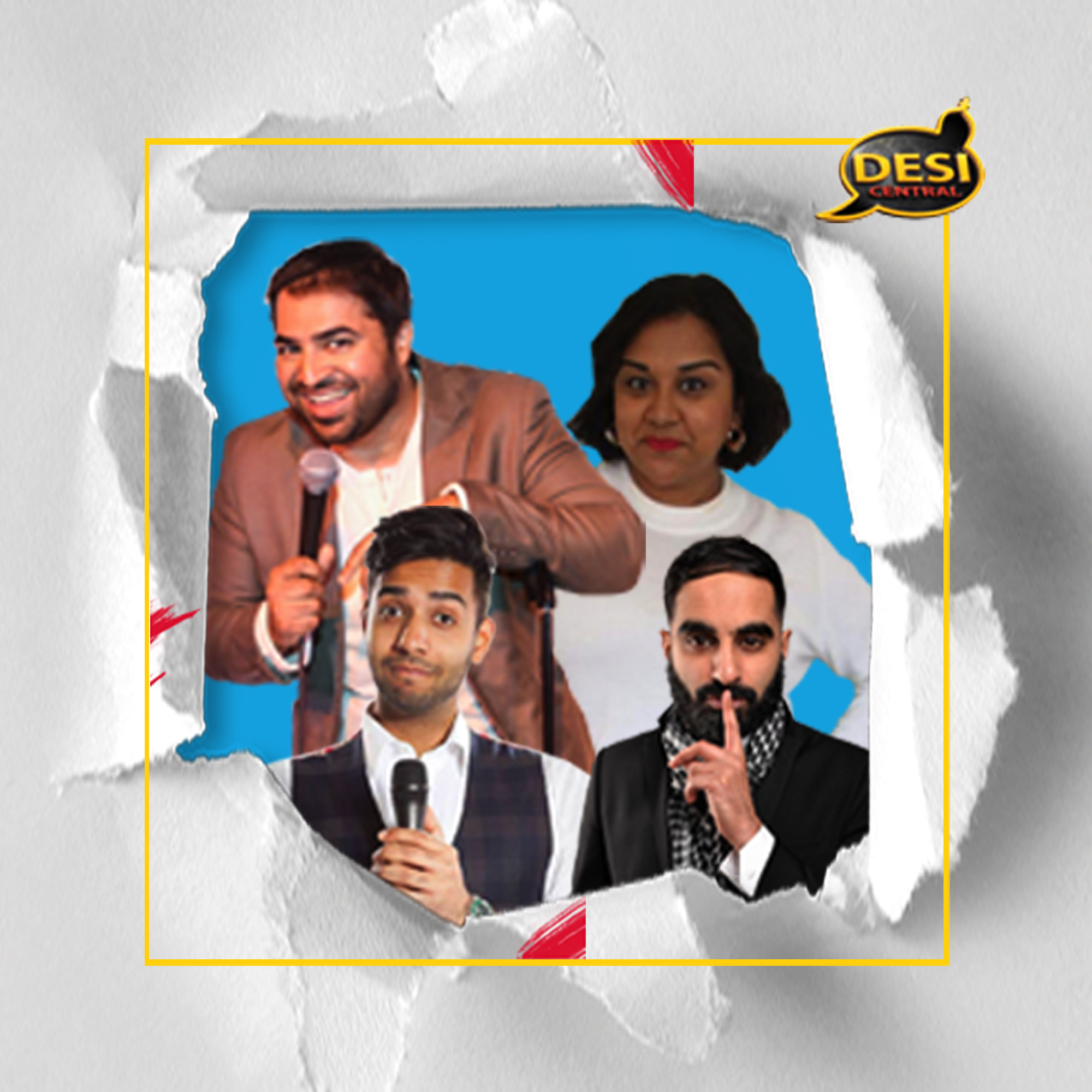 Image for - Desi Central Comedy Night at The Slade Rooms