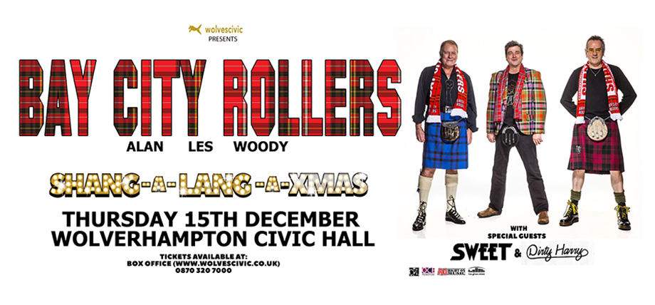 Bay City Rollers The Sweet | 15/12/2016 | Civic Hall