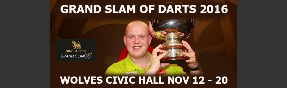 Singha Grand Slam of Darts 12/11/2016 | Civic Hall