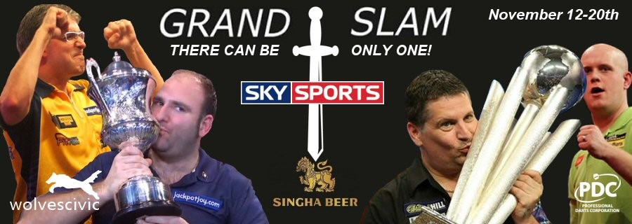 Singha Grand Slam of Darts | 12/11/2016 | Civic Hall