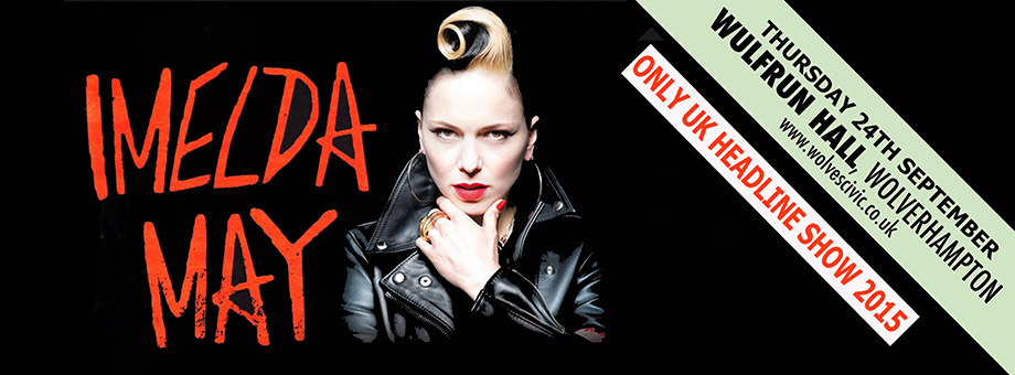 Imelda May - Tribal - 24/09/2015 | Wulfrun Hall, Wolverhampton